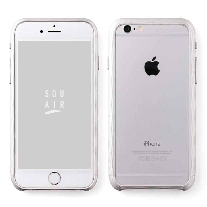 【iPhone6sケース】超々ジュラルミン SQUAIR The Dimple シルバー iPhone 6s_0