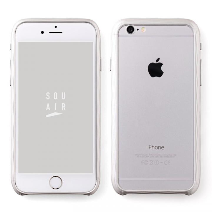 【iPhone6sケース】超々ジュラルミン SQUAIR The Dimple シルバー iPhone 6s_0