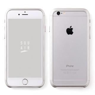 iPhone6s ケース 超々ジュラルミン SQUAIR The Dimple シルバー iPhone 6s