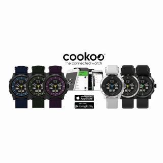 スマートフォン連動腕時計 COOKOO2 パープル_4