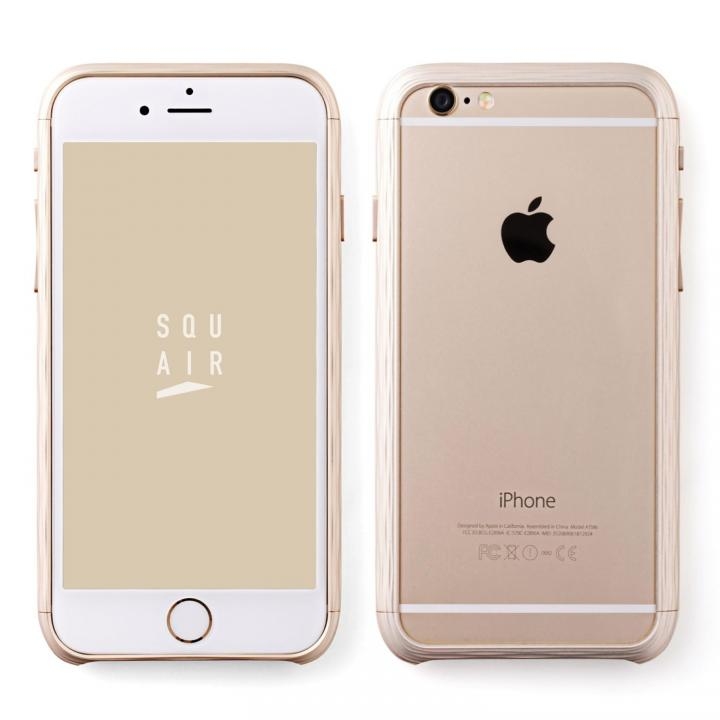 【iPhone6sケース】超々ジュラルミン SQUAIR The Dimple ゴールド iPhone 6s_0
