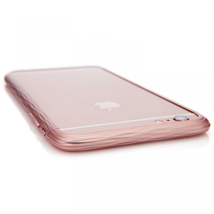 【iPhone6sケース】超々ジュラルミンSQUAIR The Dimple ローズゴールド iPhone 6s_0