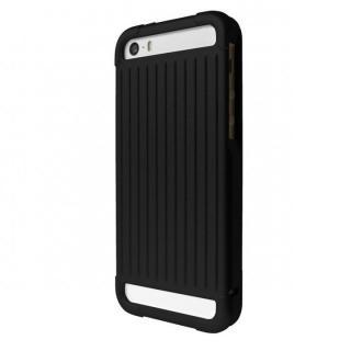 【iPhone SE/5s/5ケース】GRAMAS Aluminium iPhone SE/5s/5 Case with Extra Glass ブラック