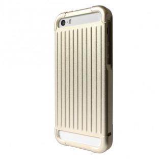 iPhone SE/5s/5 ケース GRAMAS アルミニウムケース iPhone SE/5s/5 ゴールド