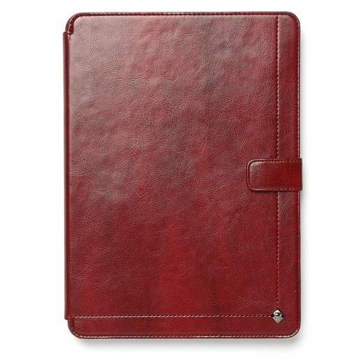 iPad mini/2/3対応 Masstige Neo Classic Diary ワインレッド_0