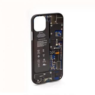 iPhone 11 ケース PCB(printed circuit board)デザインケース iPhone 11 ブルー