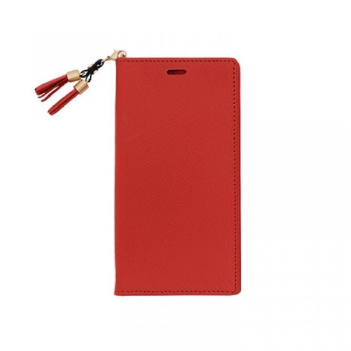 iPhone XS/X ケース 手帳型ケース EPOI Shiki(シキ) あか iPhone XS/X_0
