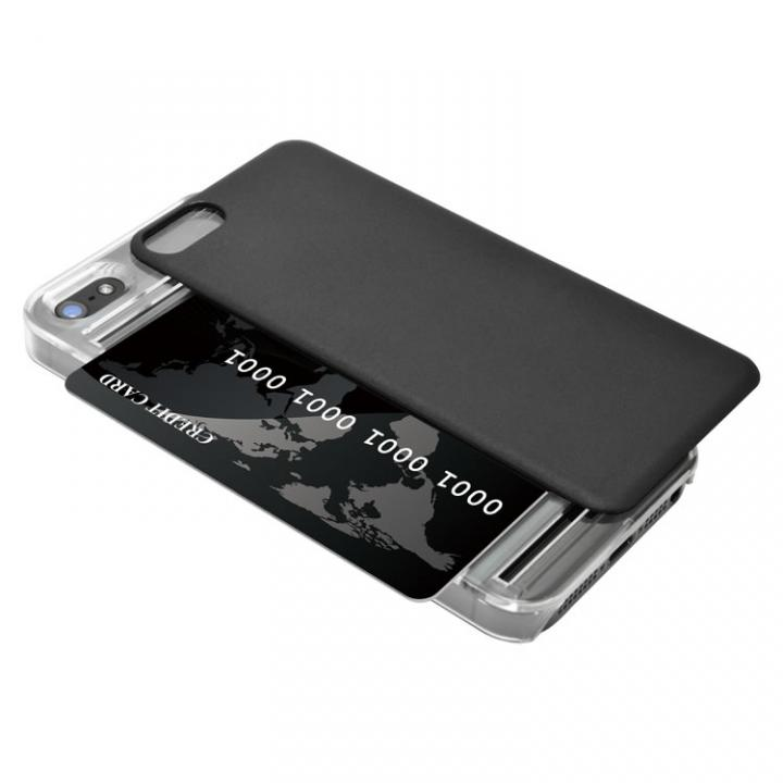 【iPhone SE/5s/5ケース】iPhone SE/5s/5 back cover + ICブラック_0