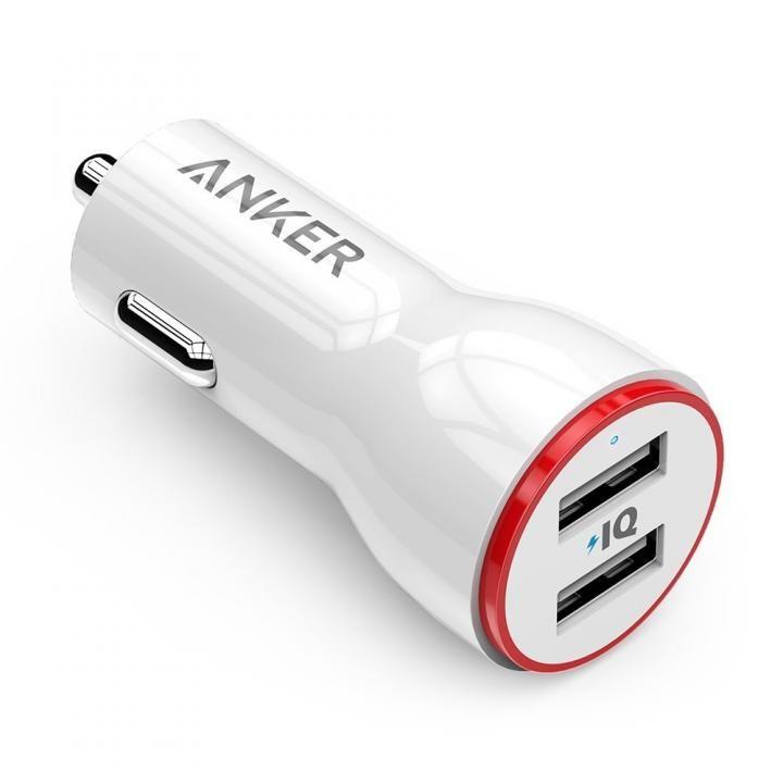 Anker PowerDrive 2 ホワイト【7月下旬】_0