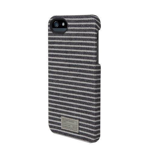 HEX CORE CASE  iPhone SE/5s/5 ブラック/グレイ・ストライプ