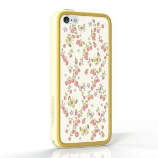 POPTUNE iPhone5c - Berry & Butterfly