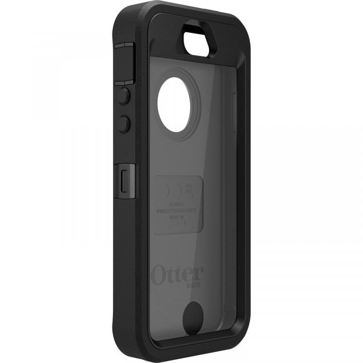 OtterBox Defender  iPhone SE/5s/5 ブラック/ブラック (Black)