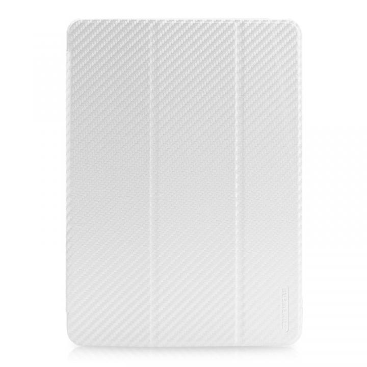 CarbonLook SHELL with Front cover iPad Air ホワイト_0