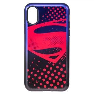 GRAMAS COLORS ジャスティス・リーグ ケース スーパーマン iPhone XS/X