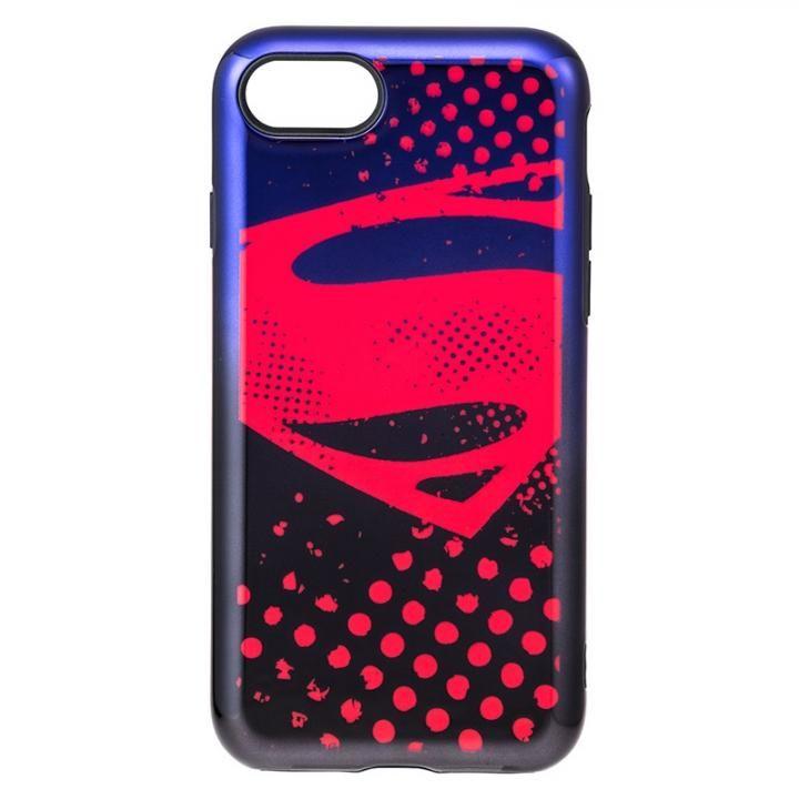 iPhone8/7 ケース GRAMAS COLORS ジャスティス・リーグ ケース スーパーマン iPhone SE 第2世代/8/7_0