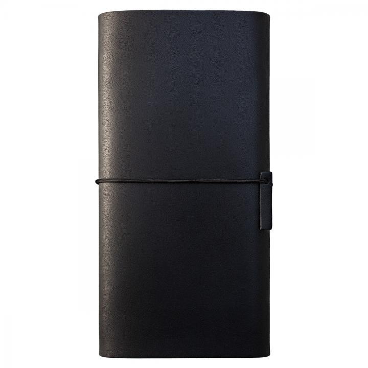 【iPhone XS Max/8 Plusケース】MYNUS 栃木レザーケース 167  ブラック iPhone XS Max/8 Plus/7 Plus/6s Plus/6 Plus_0