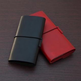 【iPhone XS Max/8 Plusケース】MYNUS 栃木レザーケース 167  ブラック iPhone XS Max/8 Plus/7 Plus/6s Plus/6 Plus_1