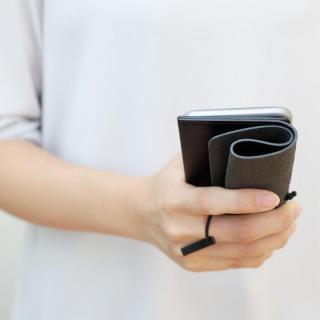 【iPhone XS Max/8 Plusケース】MYNUS 栃木レザーケース 167  ブラック iPhone XS Max/8 Plus/7 Plus/6s Plus/6 Plus_6