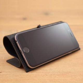 【iPhone XS Max/8 Plusケース】MYNUS 栃木レザーケース 167  ブラック iPhone XS Max/8 Plus/7 Plus/6s Plus/6 Plus_8