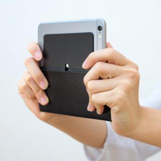 【iPhone XS Max/8 Plusケース】MYNUS 栃木レザーケース 167  ブラック iPhone XS Max/8 Plus/7 Plus/6s Plus/6 Plus_10