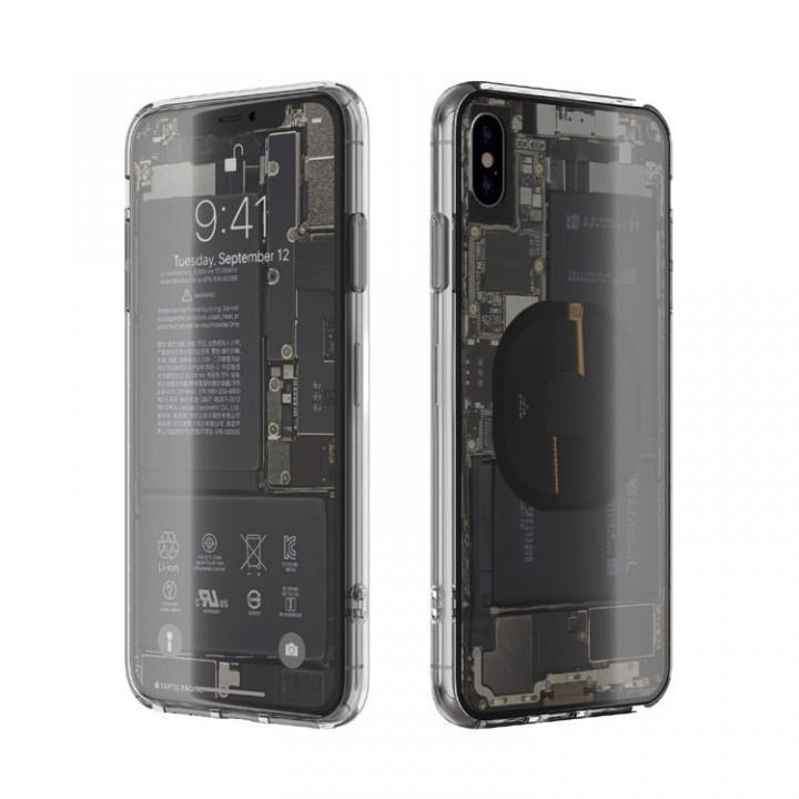 【iPhone XS Maxケース】EUREKA Translucent 6.5 背面強化ガラスケース クリア for iPhone XS Max【1月中旬】_0