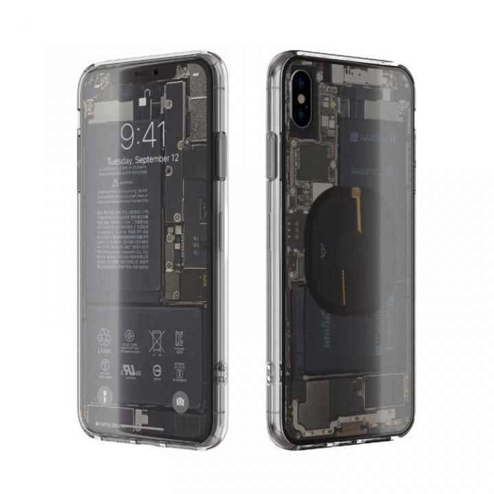 iPhone XS Max ケース EUREKA Translucent 6.5 背面強化ガラスケース クリア for iPhone XS Max_0