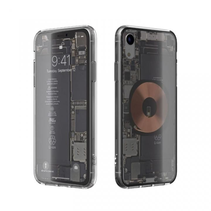 【iPhone XRケース】EUREKA Translucent 6.1 背面強化ガラスケース クリア for iPhone XR【1月中旬】_0
