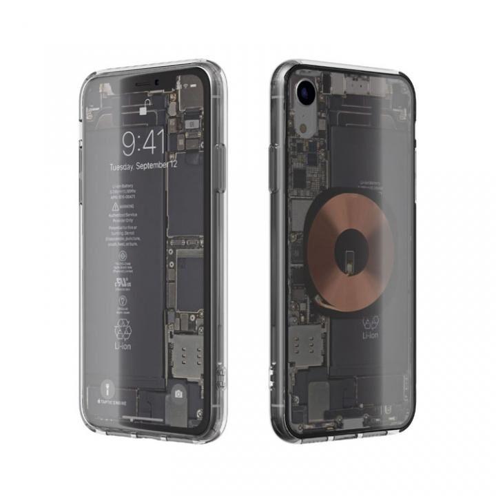 iPhone XR ケース EUREKA Translucent 6.1 背面強化ガラスケース クリア for iPhone XR_0