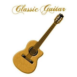 蒔絵シール クラシックギター