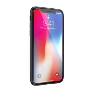 【iPhone XS/Xケース】SwitchEasy GLASS X ブラック iPhone XS/X_1