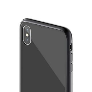 【iPhone XS/Xケース】SwitchEasy GLASS X ブラック iPhone XS/X_3