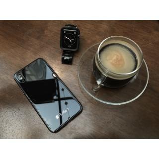 【iPhone XS/Xケース】SwitchEasy GLASS X ブラック iPhone XS/X_9