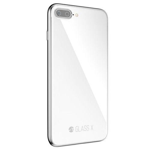 SwitchEasy GLASS X ホワイト iPhone 8 Plus/7 Plus