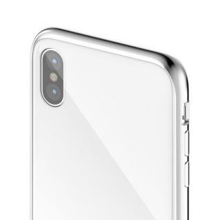 【iPhone XS/Xケース】SwitchEasy GLASS X ホワイト iPhone XS/X_3
