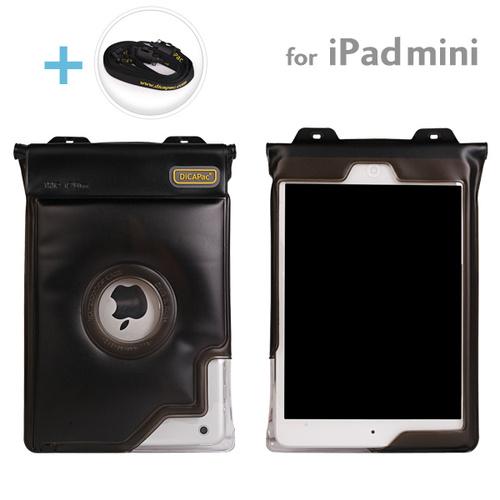 Dicapac 防水タブレットケース 7インチ~iPad mini/2/3対応 汎用 (ブラック)