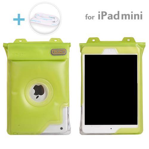 Dicapac 防水タブレットケース 7インチ~iPad mini/2/3対応 汎用 (グリーン)_0