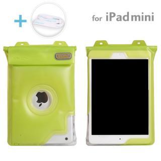 Dicapac 防水タブレットケース 7インチ~iPad mini/2/3対応 汎用 (グリーン)