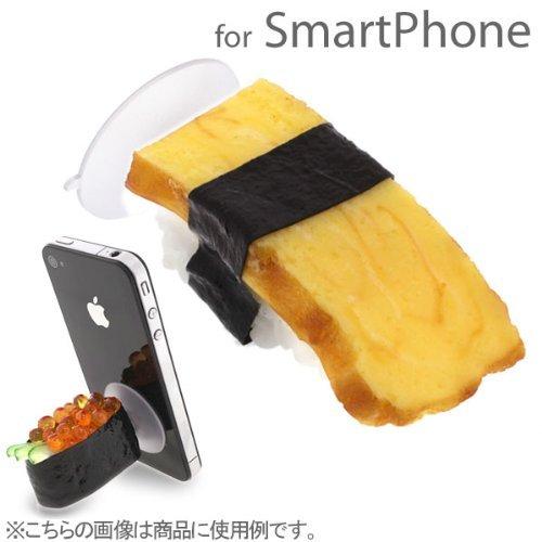 食品サンプルスマホスタンド お寿司・玉子 iPhone 5s/5c/5/4s/4_0