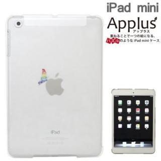 iPad mini/2/3Applusアップラスハードクリアケース(虹色蝶々)