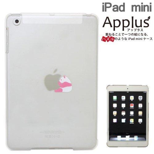 iPad mini/2/3Applusアップラスハードクリアケース(ピンクパンダ)_0