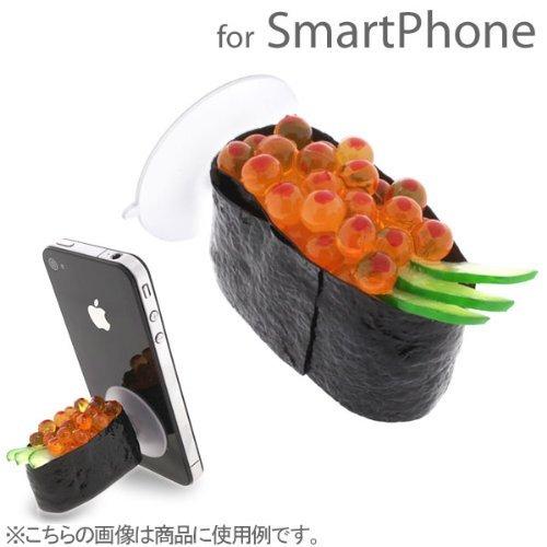 食品サンプルスマホスタンド お寿司・イクラ iPhone 5s/5c/5/4s/4_0
