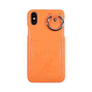 iPhone XS/X ケース KANGOL カンゴール POCKET NEONORG iPhone XS/X【2月上旬】