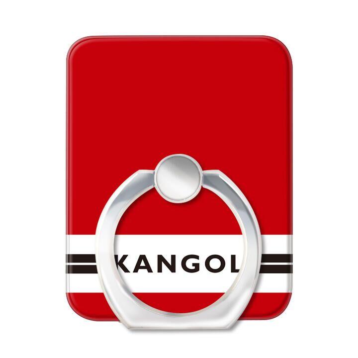 KANGOL カンゴール LINE RED スマホリング iPhone落下防止リング_0