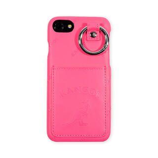 iPhone8/7/6s/6 ケース KANGOL カンゴール POCKET NEONPNK iPhone 8/7/6s/6