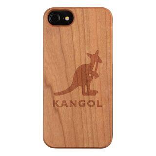 iPhone8/7/6s/6 ケース KANGOL カンゴール ウッドケース LOGO iPhone 8/7/6s/6【2月上旬】