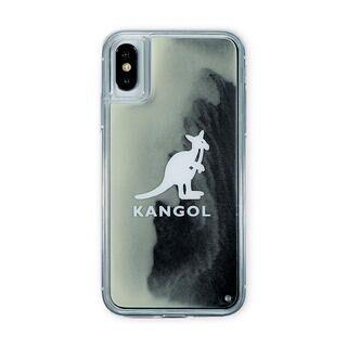 iPhone XS/X ケース KANGOL カンゴール NEON SAND LOGO BLK iPhone XS/X【1月下旬】