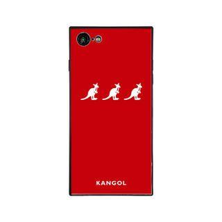 iPhone8/7 ケース KANGOL カンゴール TRIPLE RED iPhone 8/7