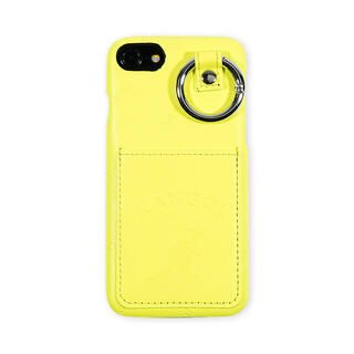 iPhone8/7/6s/6 ケース KANGOL カンゴール POCKET NEONYEL iPhone 8/7/6s/6