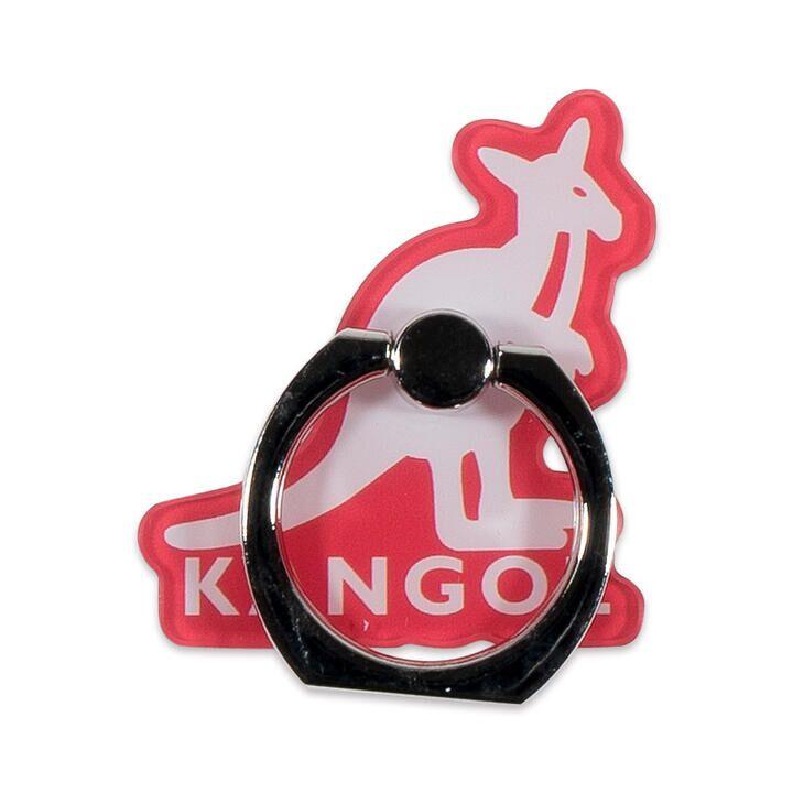 KANGOL カンゴール MOTIF RING RED スマホリング iPhone落下防止リング【2月上旬】_0