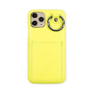 iPhone 11 Pro ケース KANGOL カンゴール POCKET NEONYEL iPhone 11 Pro